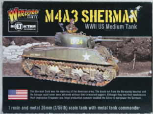 Warlord Games 28mm WGB-AI-103 M4A3 Sherman